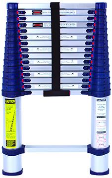 The Brushman Xtend Climb Telescoping Ladder 250 Lbs