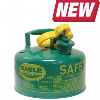 1-GAL Green Metal Safety Can w/o Funnel
