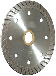 "4.5"" Turbo Diamond Blade"
