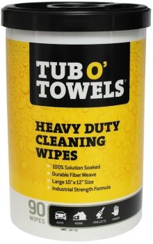TUB O' TOWELS Cleaning Wipes (90/cnt)