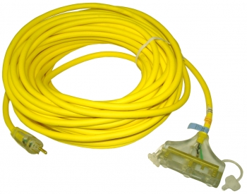 100' Triple-Tap Extension Cord