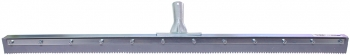"36"" Serrated Edge Floor Squeegee (1/2"" V-Notch)"