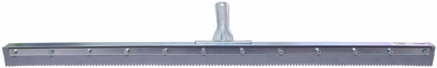 "36"" Serrated Edge Floor Squeegee (1/4"" V-Notch)"
