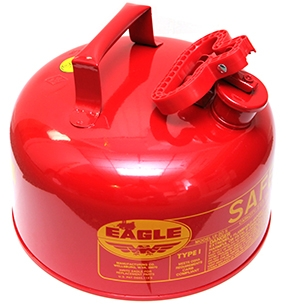 2-GAL Metal Gas Container w/Funnel