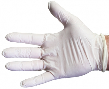 Disposable Latex Glove (Powder Free) - Size XL