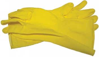 Flocked Lined Latex Glove - Size XL