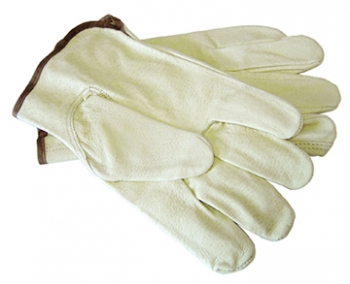 100% Pig Leather Glove - Size L