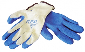 FLEXI GRIP™ Blue Latex Palm Glove - Size L