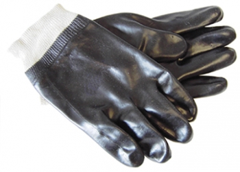 Sanitized® Treated Black Glove - Size L