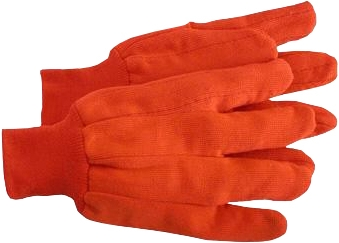 2-PLY High-Vis Glove w/Knit Wrist