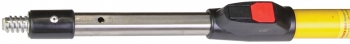 6'-12' Fiberglass/Aluminum Ext. Handle w/Push Button