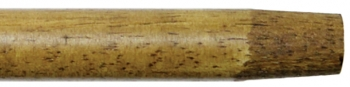 "60"" x 15/16"" Wood Handle w/Tapered Wood Tip"