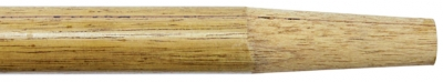 "72"" x 1-1/8"" Wood Handle w/Tapered Wood Tip"