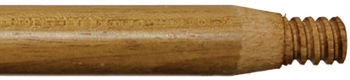 "60"" x 1-1/8"" Wood Handle w/Wood Threaded Tip"