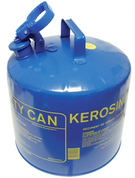 5-GAL Metal Kerosine Can w/Funnel