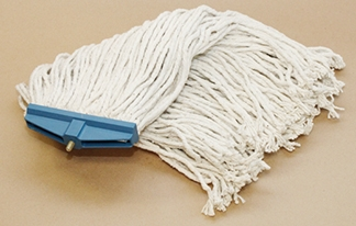 "24 oz. ""Sta-Flat"" Cotton Mop Head"