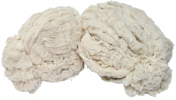 "2.5lb White Cotton ""Hank Style"" Roofing Mop Head"