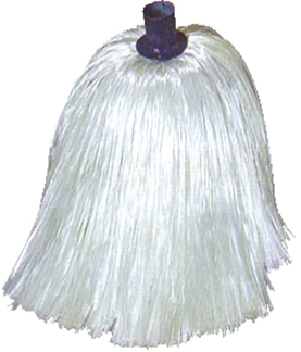 "#8 Fiberglass ""Pin Style"" Roofing Mop Head"