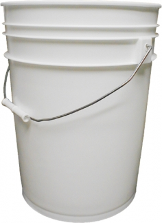 5-Gallon Plastic Pail w/Handle