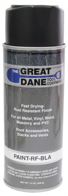 "Roof ""Touch-Up"" Spray Paint - Black"