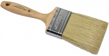 "3"" Paint Brush w/China Bristle Fill & Maple Handle"