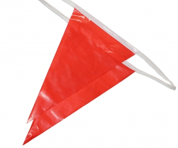 100' OSHA Pennant Flags (Red)