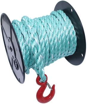 "5/8"" X 60' Cobalt Blue Poly Rope w/Snap-Hook"