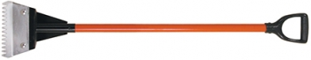 Shingle Tear-Off Tool w/Poly D-Grip Fiberglass Handle