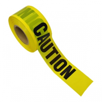 "3"" x 1000' Yellow Caution Tape (Roll)"