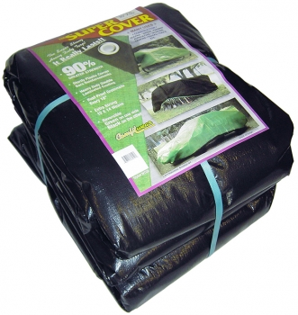 Heavy Duty Green/Black Poly Tarps (Multiple Sizes)
