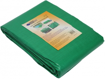 10' X 12' Green/Black Tarp