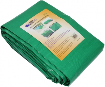 20' X 30' Green/Black Tarp