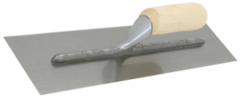 "14"" X 4"" Cement Finishing Trowel w/Wood Handle"