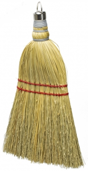 Whisk Broom w/Metal Hanging Cap