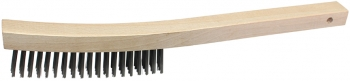 Curved Wire Scratch Brush