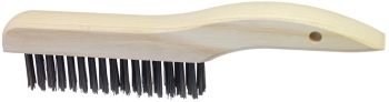 Wire Scratch Brush w/Shoe-Style Handle